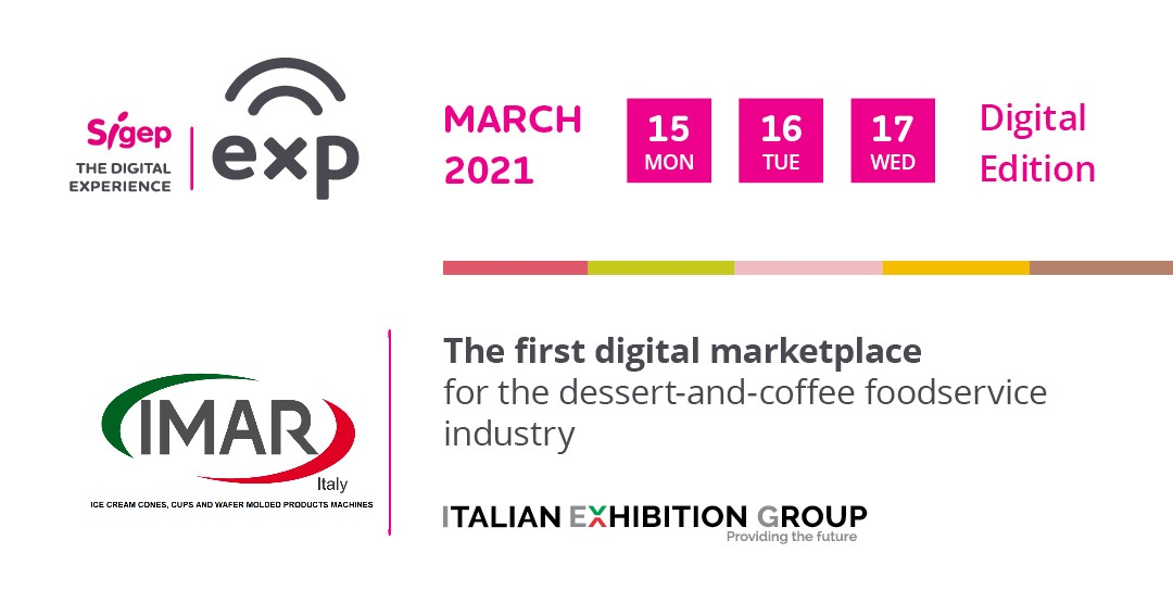 Fiera Virtual Exhibition SIGEP 2021 15 16 17 March